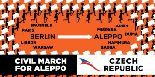 Protestní mírový pochod z Berlína do Aleppa